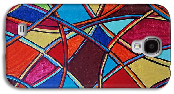 Abstract Forms Galaxy S4 Cases - Abstract 10 Galaxy S4 Case by Susan Sadoury