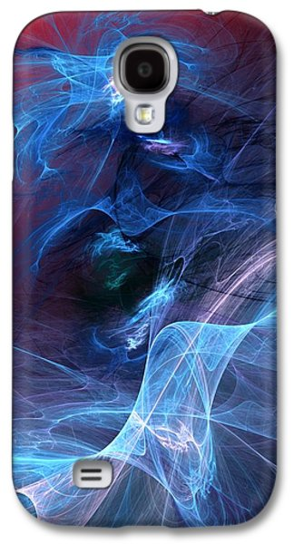 Abstract Digital Art Galaxy S4 Cases - Abstract 111610 Galaxy S4 Case by David Lane
