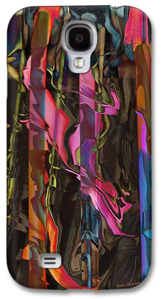 Abstract Digital Mixed Media Galaxy S4 Cases - Abstract 415 1 Galaxy S4 Case by Kae Cheatham