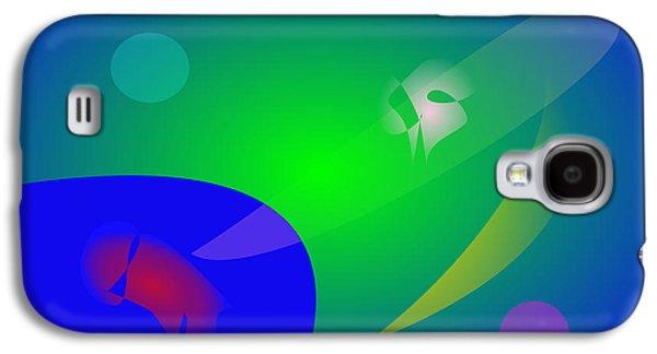 Plankton Digital Galaxy S4 Cases - Abstract Aquarium Galaxy S4 Case by Masaaki Kimura