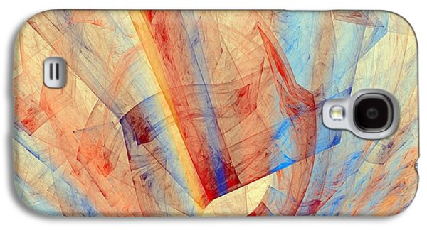 Business Galaxy S4 Cases - Abstract Art Image #1411141 Galaxy S4 Case by Xiaokuan Ren