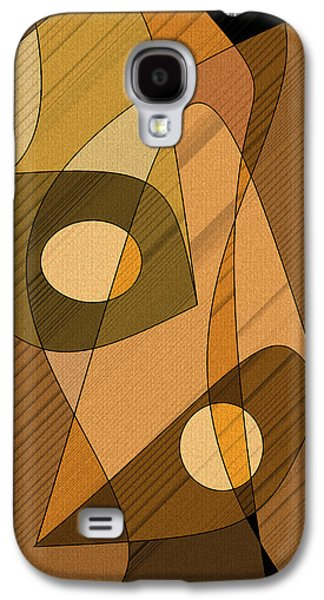 Abstract Digital Digital Galaxy S4 Cases - Abstract Bells Galaxy S4 Case by Val Arie
