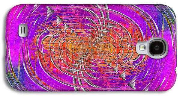 Colorful Abstract Galaxy S4 Cases - Abstract Cubed 265 Galaxy S4 Case by Tim Allen