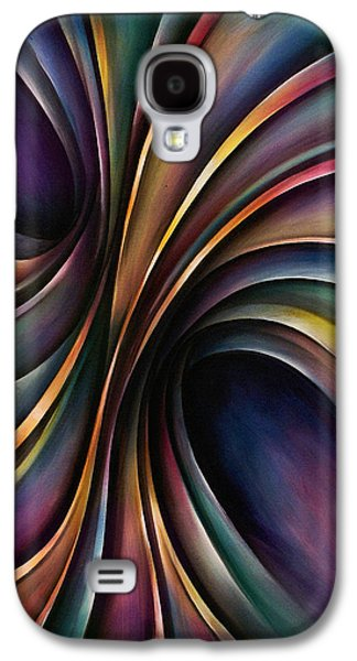 Chromatic Galaxy S4 Cases - Abstract Design 55 Galaxy S4 Case by Michael Lang