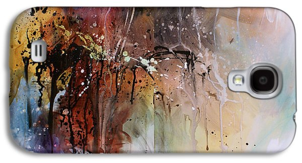 Abstract Movement Galaxy S4 Cases - Abstract Design 80 Galaxy S4 Case by Michael Lang