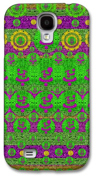 Abstracted Galaxy S4 Cases - Abstract fantasy Ming Dynasty Galaxy S4 Case by Pepita Selles