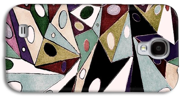 Abstract Digital Drawings Galaxy S4 Cases - Abstract G6z Galaxy S4 Case by Zizi Lagadec