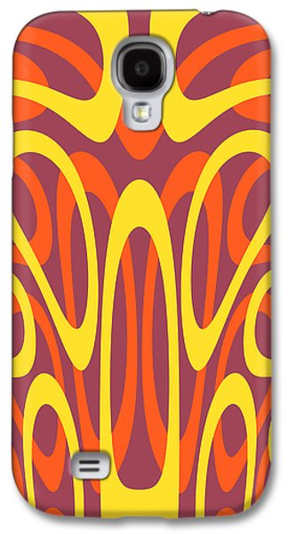 Algorithmic Abstract Galaxy S4 Cases - Abstract geometric shapes Galaxy S4 Case by Gaspar Avila