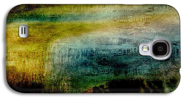 Abstract Digital Paintings Galaxy S4 Cases - Abstract Iris 2 Galaxy S4 Case by Bonnie Bruno