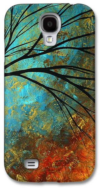 Madart Galaxy S4 Cases - Abstract Landscape Art PASSING BEAUTY 4 of 5 Galaxy S4 Case by Megan Duncanson