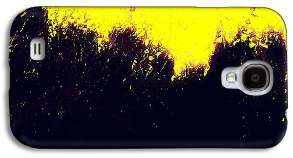 Abstract Movement Galaxy S4 Cases - Abstract No 75 - ALPHA and OMEGA  Galaxy S4 Case by Radu Gavrila