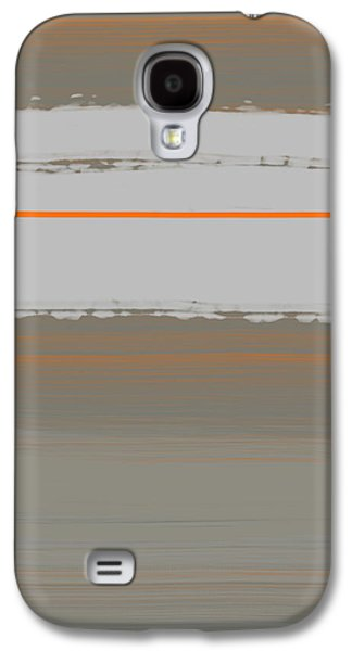 Abstract Orange 4 Galaxy S4 Case by Naxart Studio
