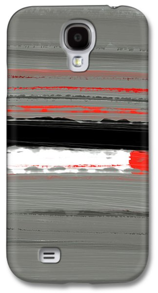 Abstract Red 4 Galaxy S4 Case by Naxart Studio