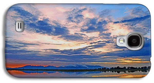 Recently Sold -  - Sunset Abstract Galaxy S4 Cases - Abstract Sunset Galaxy S4 Case by Brent Hall