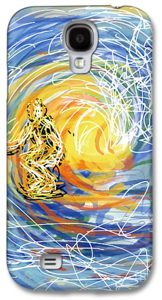 Abstract Surfer 41 Galaxy S4 Case by Robert Yaeger