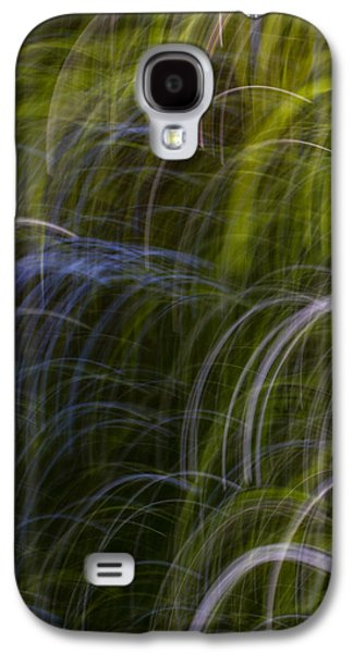 Abstract Movement Galaxy S4 Cases - Abstract Trees 3 Galaxy S4 Case by Clare Bambers