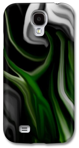 Abstract Digital Galaxy S4 Cases - Abstract309h Galaxy S4 Case by David Lane