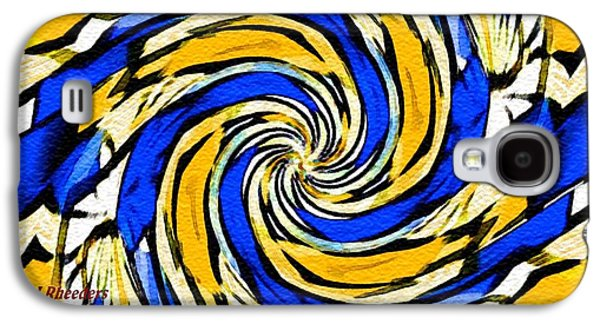Abstract Digital Pastels Galaxy S4 Cases - Abstracticalia Catus 1 no. 1 H A Galaxy S4 Case by Gert J Rheeders