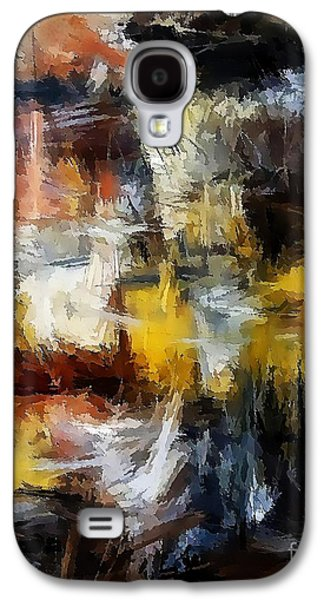 Abstract Forms Galaxy S4 Cases - Abstraction 1846 Galaxy S4 Case by Marek Lutek