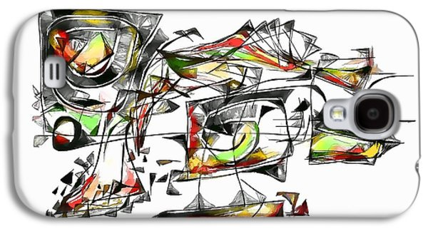 Abstract Forms Galaxy S4 Cases - Abstraction 1851 Galaxy S4 Case by Marek Lutek