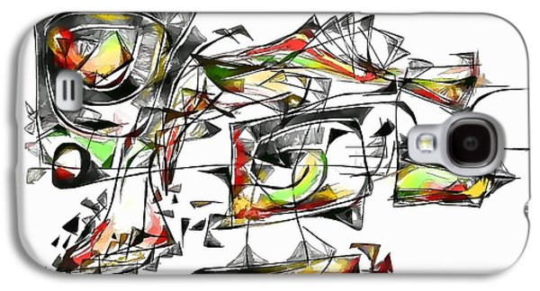 Abstract Forms Galaxy S4 Cases - Abstraction 1852 Galaxy S4 Case by Marek Lutek