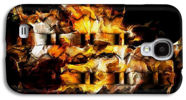 Abstract Forms Galaxy S4 Cases - Abstraction 1856 Galaxy S4 Case by Marek Lutek