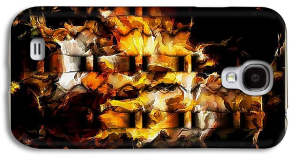 Abstract Forms Galaxy S4 Cases - Abstraction 1857 Galaxy S4 Case by Marek Lutek
