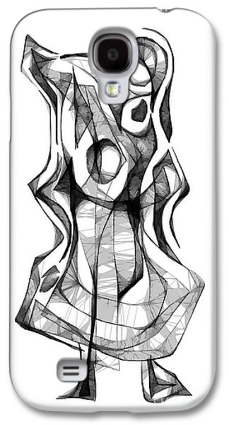 Abstract Forms Galaxy S4 Cases - Abstraction 1871 Galaxy S4 Case by Marek Lutek