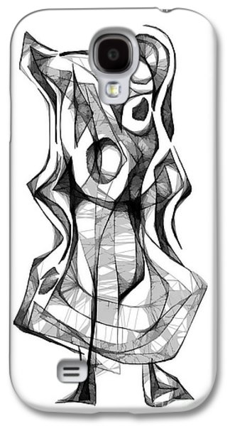 Abstract Forms Galaxy S4 Cases - Abstraction 1872 Galaxy S4 Case by Marek Lutek