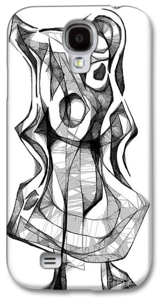 Abstract Forms Galaxy S4 Cases - Abstraction 1873 Galaxy S4 Case by Marek Lutek