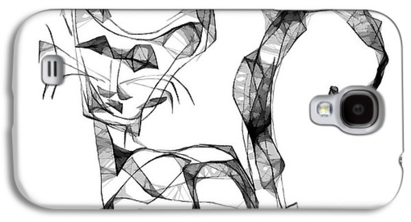 Abstract Forms Galaxy S4 Cases - Abstraction 1876 Galaxy S4 Case by Marek Lutek