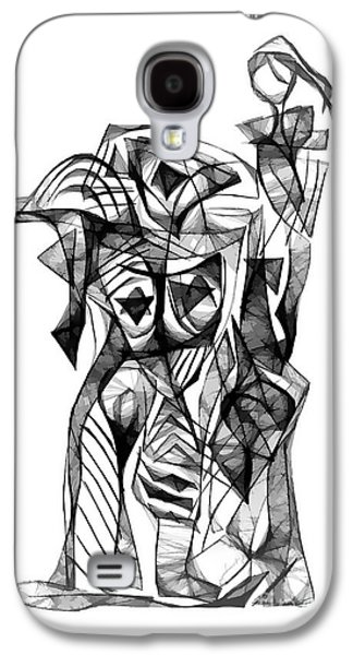 Abstract Forms Galaxy S4 Cases - Abstraction 1877 Galaxy S4 Case by Marek Lutek