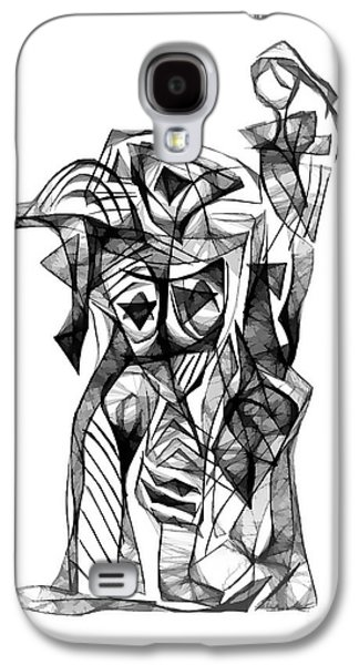 Abstract Forms Galaxy S4 Cases - Abstraction 1878 Galaxy S4 Case by Marek Lutek