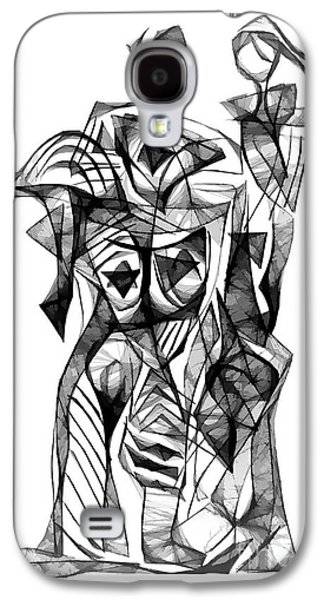 Abstract Forms Galaxy S4 Cases - Abstraction 1879 Galaxy S4 Case by Marek Lutek
