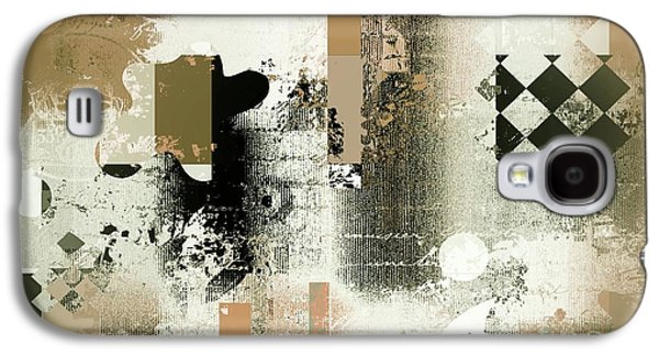 Abstracture - 21gold01 Galaxy S4 Case by Variance Collections