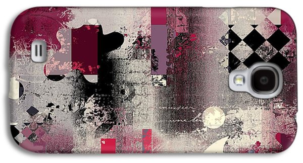 Abstract Forms Galaxy S4 Cases - Abstracture - 21pp2a Galaxy S4 Case by Variance Collections