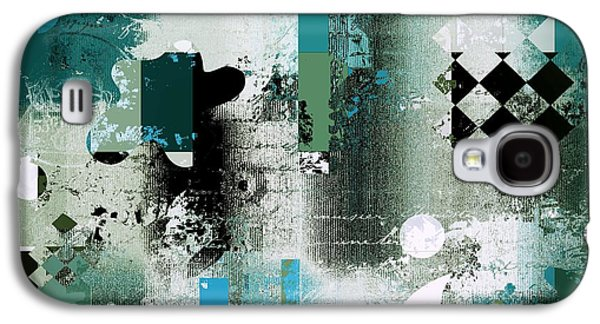 Abstracture - 21pp8bb Galaxy S4 Case by Variance Collections