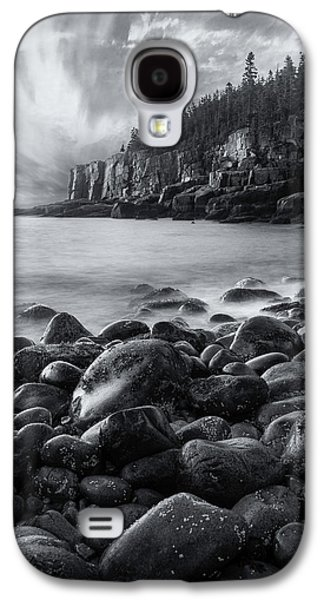 Acadia Radiance - Black And White Galaxy S4 Case by Thomas Schoeller