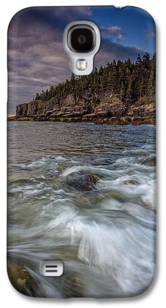Maine Beach Galaxy S4 Cases - Acadian Tide Galaxy S4 Case by Rick Berk