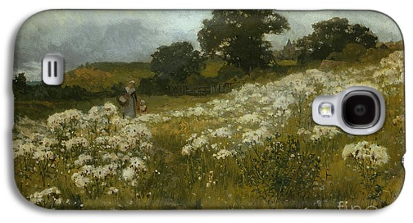 Across The Fields Galaxy S4 Case by John Mallord Bromley