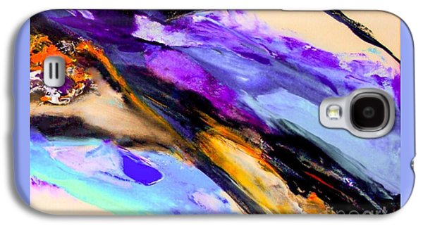 Modern Abstract Galaxy S4 Cases - Across the Ocean....2 Galaxy S4 Case by ElsaDe Paintings