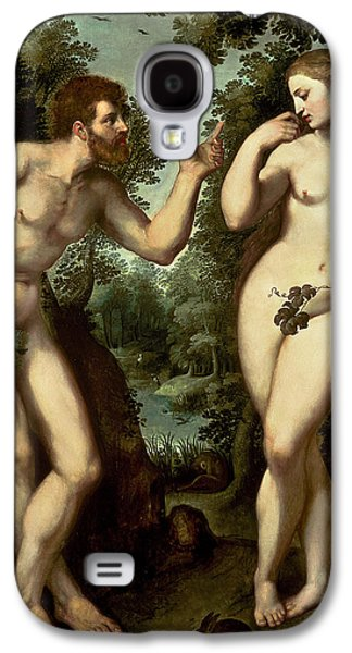 Adam And Eve Galaxy S4 Case by Peter Paul Rubens