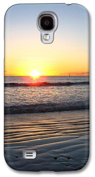Girl Galaxy S4 Cases - Adelaide Beach Galaxy S4 Case by Martina Carney