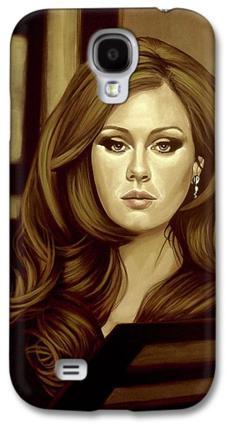 Adele Gold Galaxy S4 Case by Paul Meijering