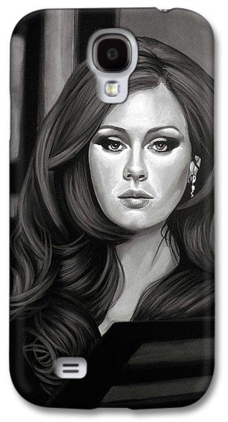 Adele Mixed Media Galaxy S4 Case by Paul Meijering