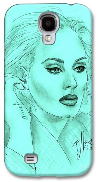 Adele Galaxy S4 Case by P J Lewis