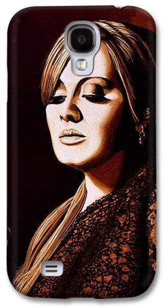 Adele Skyfall Gold Galaxy S4 Case by Paul Meijering