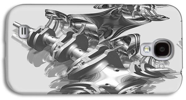 Metallica Galaxy S4 Cases - Admin Auto Series No.2 - Fractal Engineering Metallica  Galaxy S4 Case by Michael C Geraghty