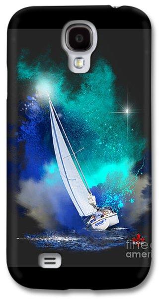 Wandering Star Galaxy S4 Cases - Adrift Galaxy S4 Case by Barbara Hebert