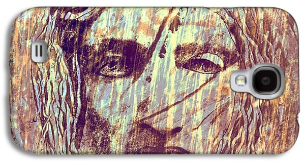 Statue Portrait Mixed Media Galaxy S4 Cases - Aeolus God Of Wind Galaxy S4 Case by Rich  Ray Art